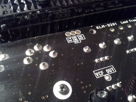 Volca bass midi out