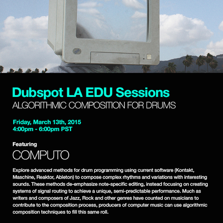Computo Dubspot Workshop 1